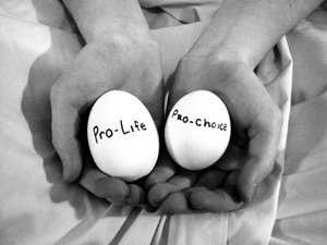 the pro choice and pro life points of view about abortion Certain pro-choice groups favor waiting periods and other forms of restrictions on abortion oftentimes, pro-choice and pro-life abortion after a fixed point.