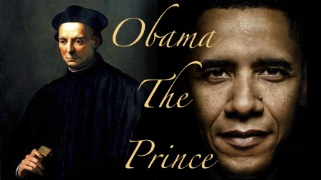 machiavelli prince is obama