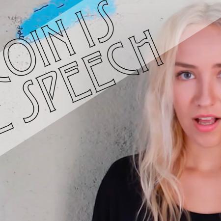 bitcoin free speech